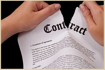 What is the best way to get a written contract enforced?
